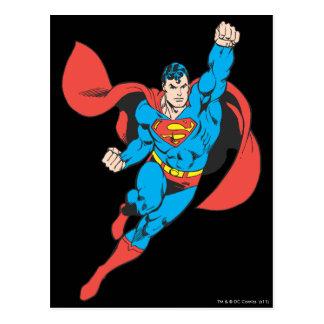 Superman Right Fist Raised Post Card