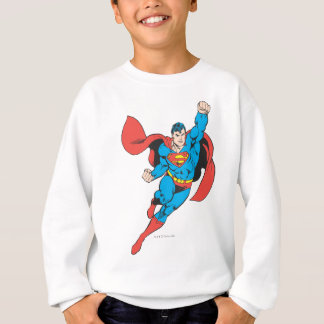 Superman Right Fist Raised Sweatshirt