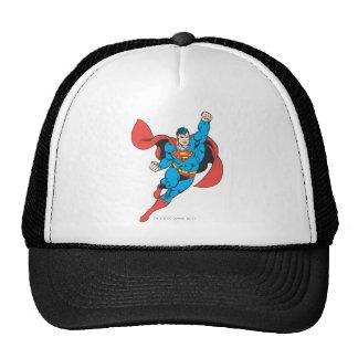 Superman Right Fist Raised Trucker Hat