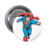 Superman Runs Forward 2 2 Inch Round Button