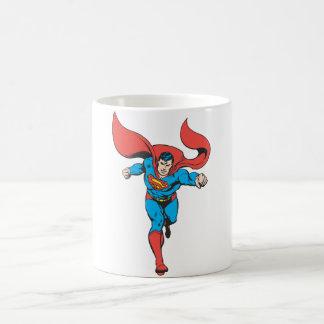 Superman Runs Forward 2 Coffee Mug