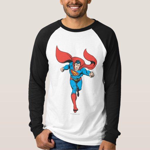 Superman Runs Forward 2 T-shirts