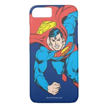 Superman Runs Forward iPhone 8/7 Case