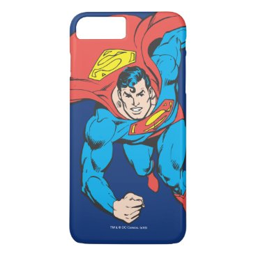 Superman Runs Forward iPhone 8 Plus/7 Plus Case