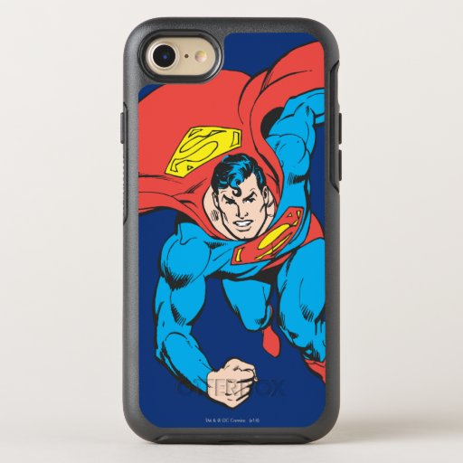 Superman Runs Forward OtterBox Symmetry iPhone SE/8/7 Case