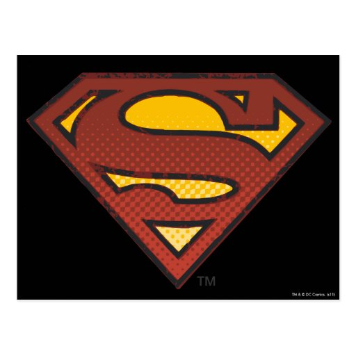 Superman S Sheild Postcard