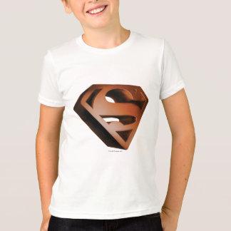 Superman S-Shield | 3D Grainy Logo T-Shirt