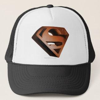 Superman S-Shield | 3D Grainy Logo Trucker Hat