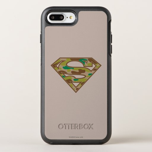 Superman S-Shield | Camouflage Logo OtterBox Symmetry iPhone 8 Plus/7 Plus Case
