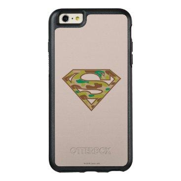 Superman S-Shield | Camouflage Logo OtterBox iPhone 6/6s Plus Case