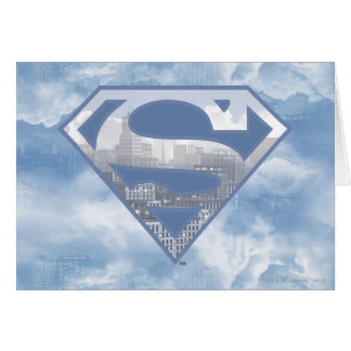 Superman S-Shield Greeting Card