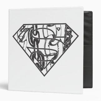 Superman S-Shield | Chainlink Logo Binder