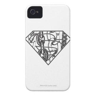 Superman S-Shield | Chainlink Logo iPhone 4 Case