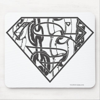 Superman S-Shield | Chainlink Logo Mouse Pad