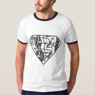 Superman S-Shield | Chainlink Logo T-Shirt