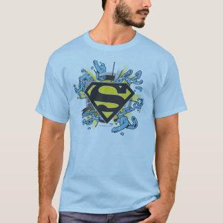 Superman S-Shield | Chains Logo T-Shirt