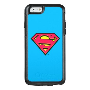 Superman S-shield | Classic Logo 3 Otterbox Iphone 6/6s Case by Superman at Zazzle