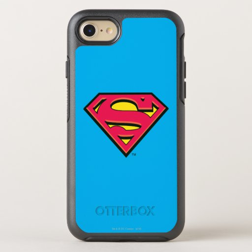 Superman S-Shield | Classic Logo 3 OtterBox Symmetry iPhone SE/8/7 Case