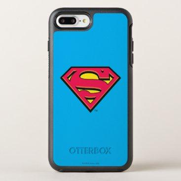 Superman S-Shield | Classic Logo 3 OtterBox Symmetry iPhone 8 Plus/7 Plus Case