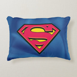 Superman S-Shield | Classic Logo Accent Pillow
