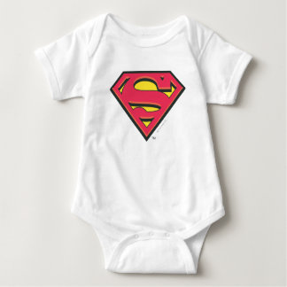 Superman S-Shield | Classic Logo Baby Bodysuit