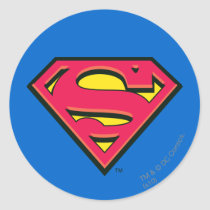 Superman S-Shield | Classic Logo Classic Round Sticker