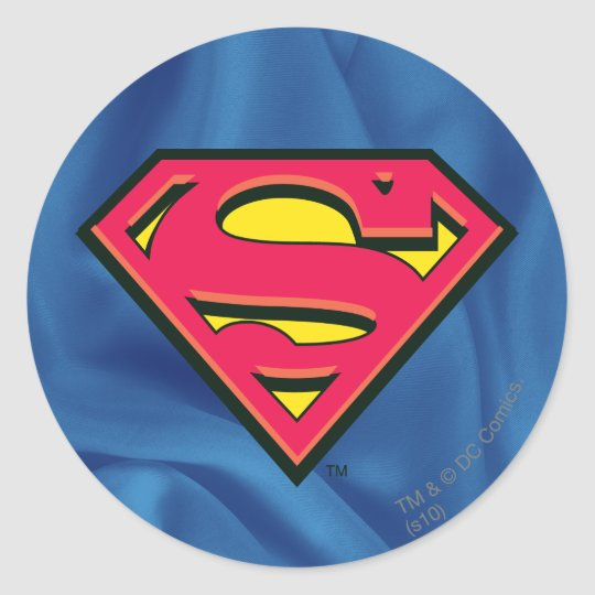 Superman S-Shield | Classic Logo Classic Round Sticker