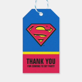 Superman S-Shield | Classic Logo Gift Tags