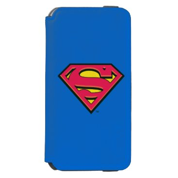 Superman S-Shield   Classic Logo iPhone 6/6s Wallet Case