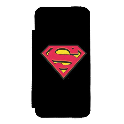Superman S-Shield | Classic Logo iPhone SE/5/5s Wallet Case