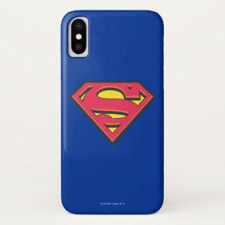 Superman S-Shield   Classic Logo iPhone X Case