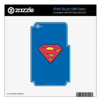 Superman S-Shield   Classic Logo iPod Touch 4G Decal