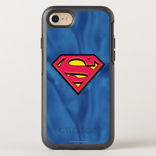 Superman S-Shield | Classic Logo OtterBox Symmetry iPhone SE/8/7 Case