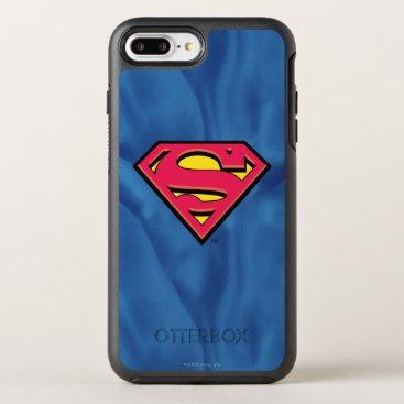 Superman S-Shield | Classic Logo OtterBox Symmetry iPhone 8 Plus/7 Plus Case