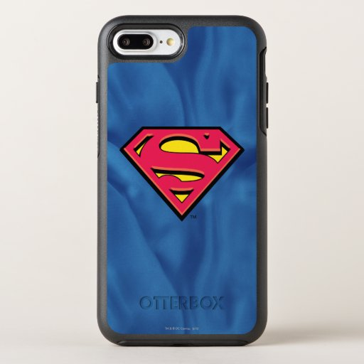 Superman S-Shield | Classic Logo OtterBox Symmetry iPhone 8 Plus/7 Plus Case