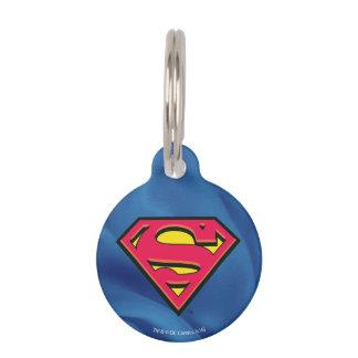 Superman S-Shield   Classic Logo Pet Name Tag