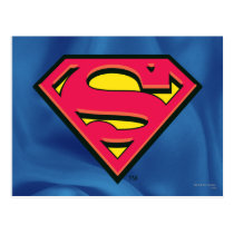 Superman S-Shield | Classic Logo Postcard