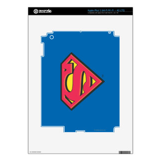 Superman S-Shield | Classic Logo Skins For iPad 3
