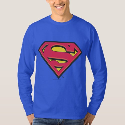 Superman S_Shield  Classic Logo T_Shirt