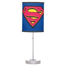 Superman S-Shield | Classic Logo Table Lamp