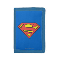 Superman S-Shield | Classic Logo Tri-fold Wallet