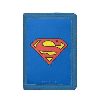 Superman S-Shield   Classic Logo Tri-fold Wallet