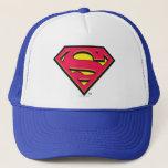 "Superman S-Shield   Classic Logo Trucker Hat<br><div class=""desc""></div>"