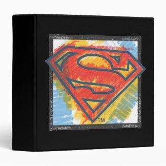 Superman S-Shield | Colored Logo Binder