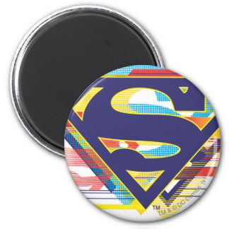 Superman S-Shield | Colorful Logo 2 Inch Round Magnet