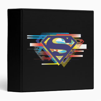 Superman S-Shield | Colorful Logo 3 Ring Binder