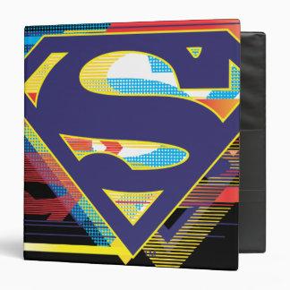 Superman S-Shield   Colorful Logo Binder
