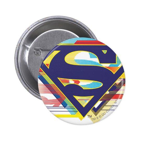 Superman S-Shield | Colorful Logo Pinback Button