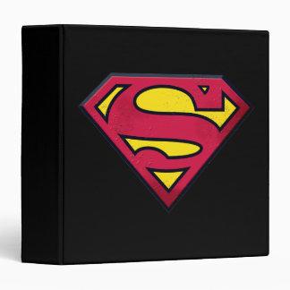 Superman S-Shield   Dirt Logo Binder