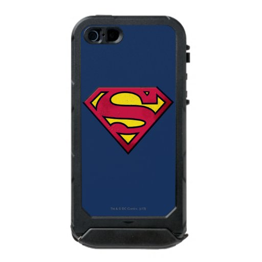Superman S-Shield | Dirt Logo Waterproof Case For iPhone SE/5/5s